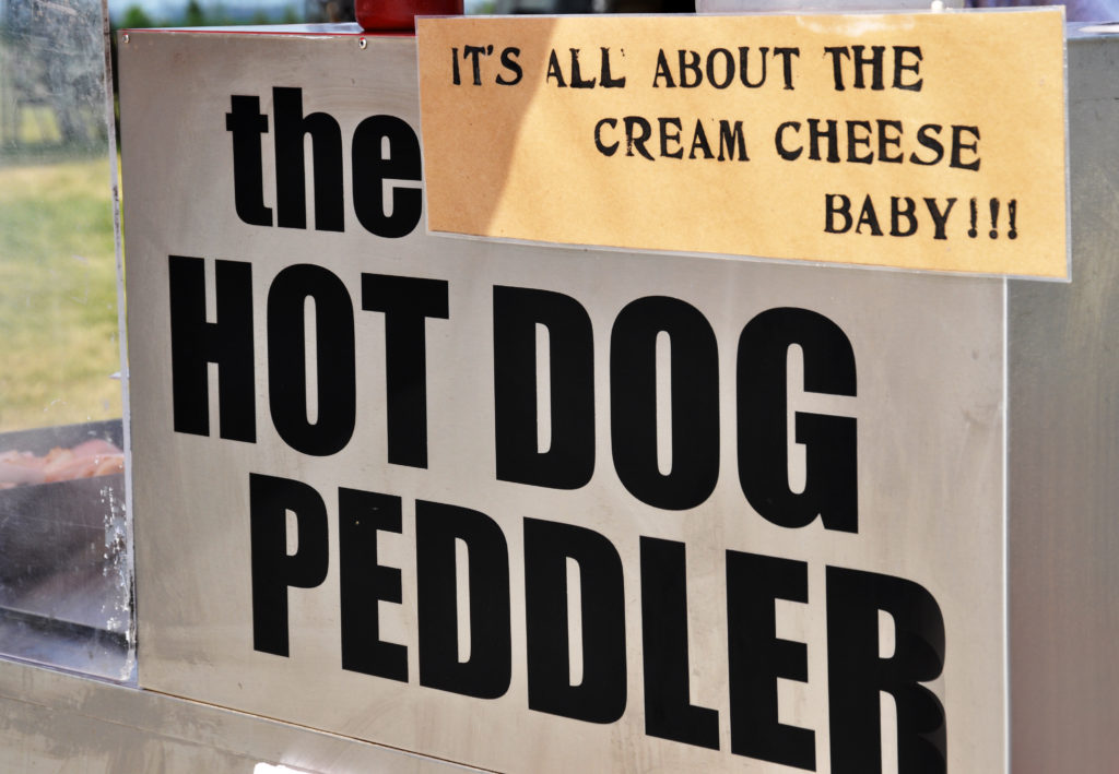 Hot Dog Peddler