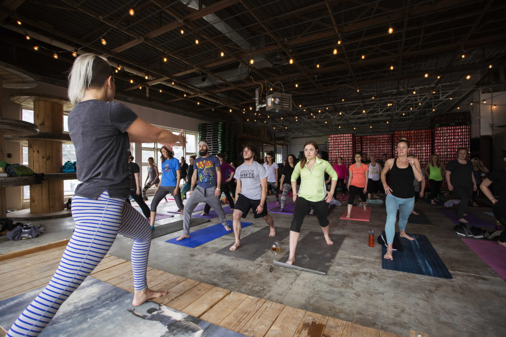 Yoga On Tap Fargo Brewing Co Downtown19