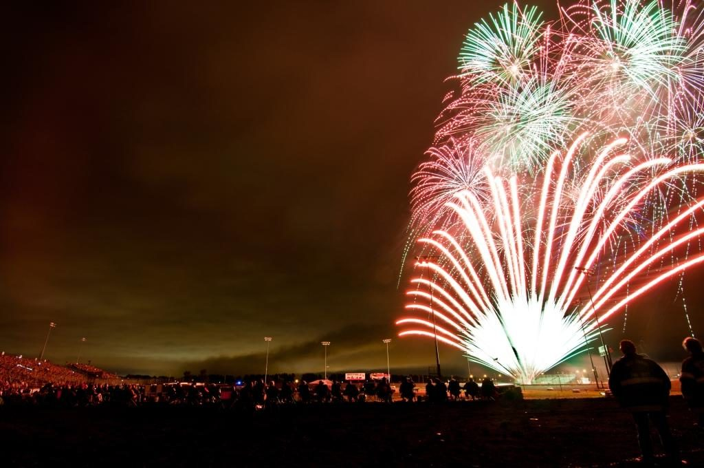 Fireworks at Red River Valley Fairgrounds