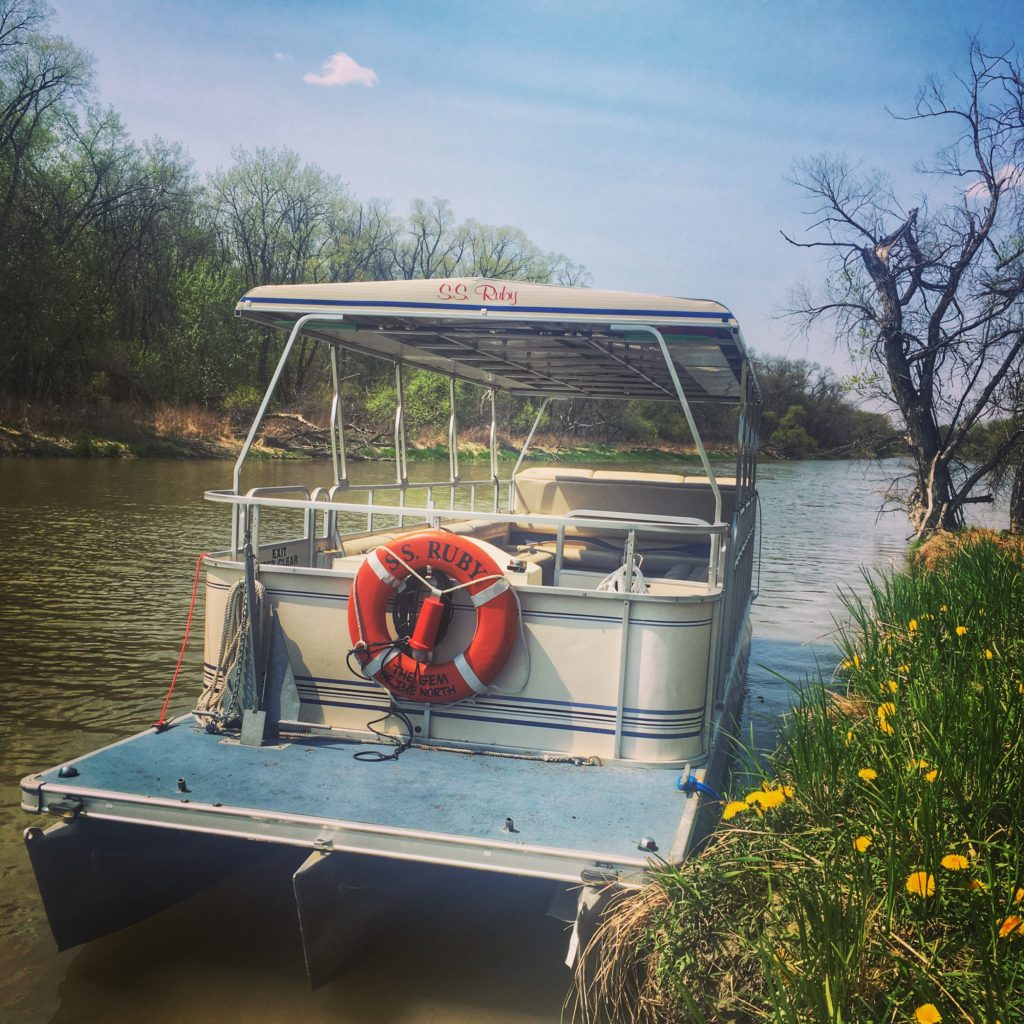 SS Ruby Boat on Red River