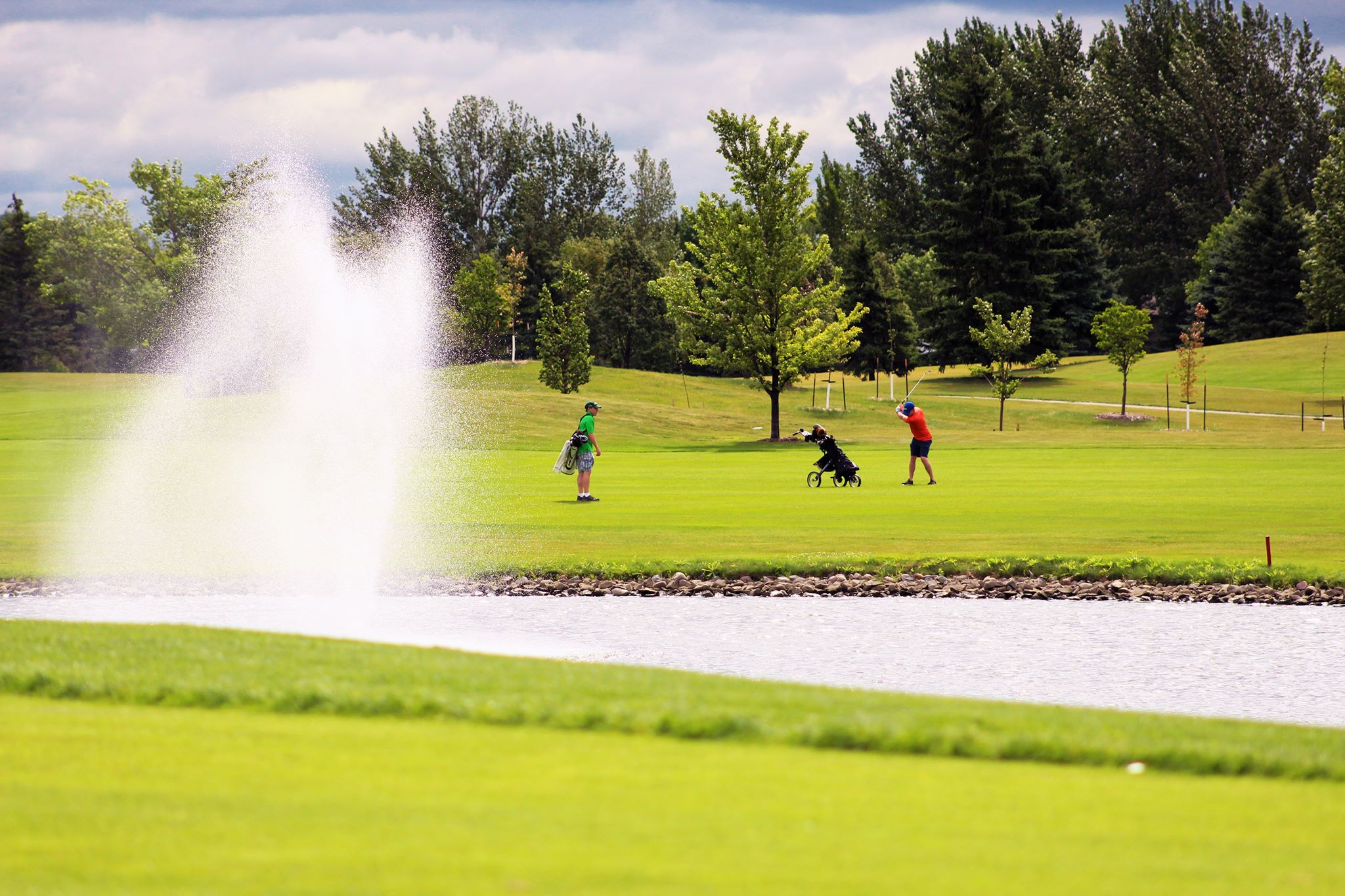 Rose Creek Golf Course - Fargo golf courses