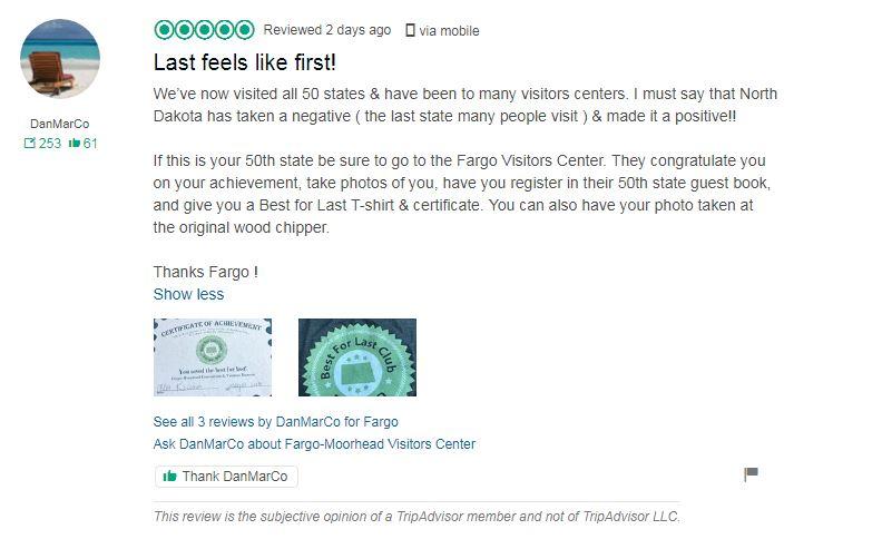 TripAdvisor review of Best for Last Club in Fargo