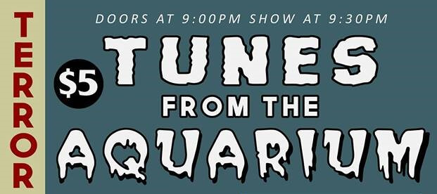 Cover show for Halloween at the Aquarium