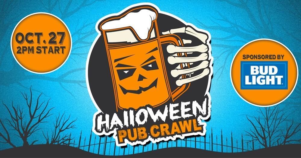 Halloween 2018 pub crawl
