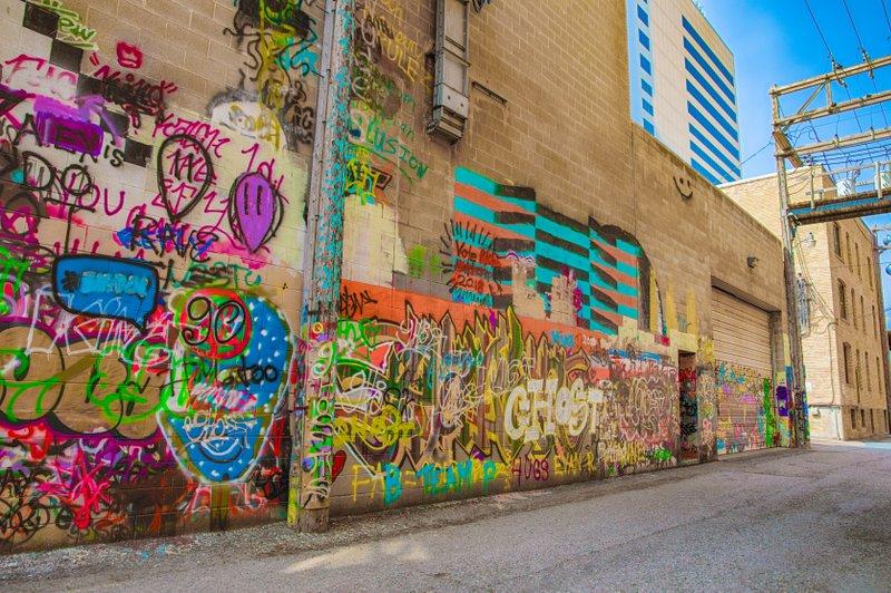 Art Alley in Downtown Fargo