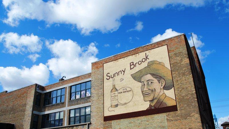 Sunny Brook mural in Downtown Fargo