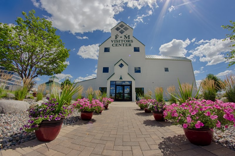 Visit Fargo Moorhead Visitors Center in spring