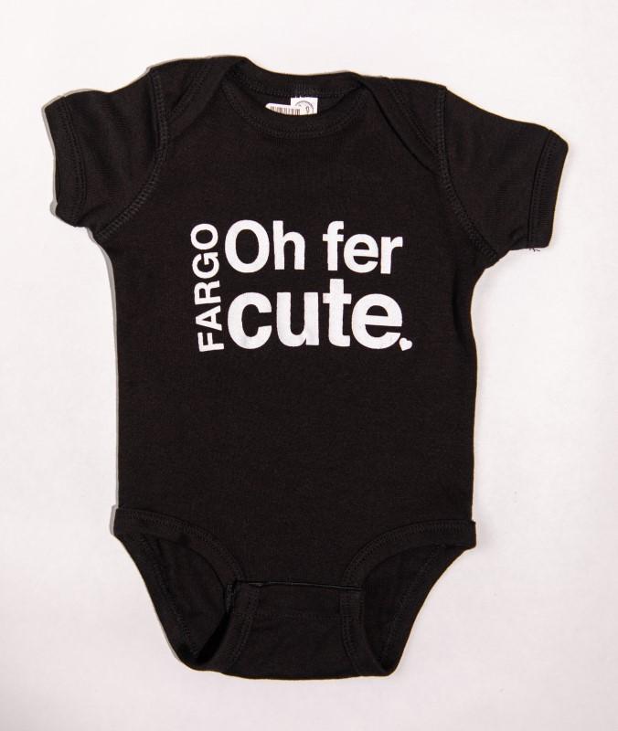 Oh fer cute baby onesie from Unglued in Fargo