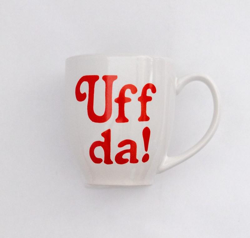 Uff Da coffee mug from STABO Scandinavian Imports